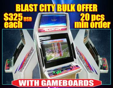 Special Pricing on Blast City Cabinets