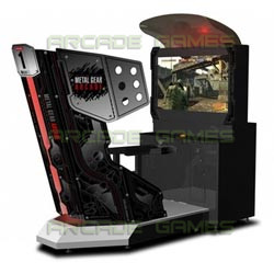 Metal Gear 3D Arcade Edition (4pcs Linked Together)
