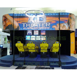 XD Theater - 4D Motion Ride Simulator 8 Seat Model